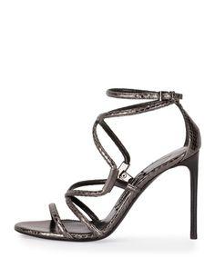 f6b70e0c77 TOM FORD - Snakeskin Crisscross 105mm Sandal Tom Ford Shoes, Summertime  Madness, Shoe Sites