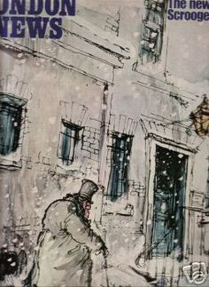 Charles Dickens A Christmas Carol, Illustrated By Ronald Searle  Ronald Searle Cultural Estate ltd http://www.ronaldsearleculturalestate.com/