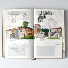 Greece travelbook on Behance