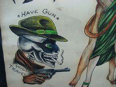 Antique Tattoo, Traditional Tattoo Sketches, Vintage Tattoo Design, Tattoo Museum, History Tattoos, Old School Tattoo Designs, Traditional Tattoo Flash, Vintage Flash, Old Tattoos