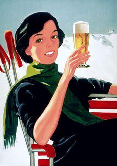 Vintage Beer #Posters