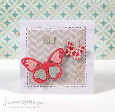 Kristina Werner for Friday Focus Valentine's Day Cards