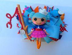 Marina Anchors Lalaloopsy hair bow by ScissorhandsCrafting on Etsy, $20.00