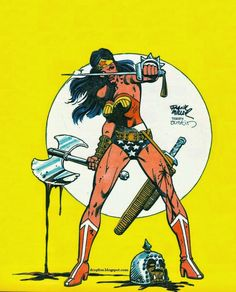 Wonder Woman by Frank Miller and Terry Austin *
