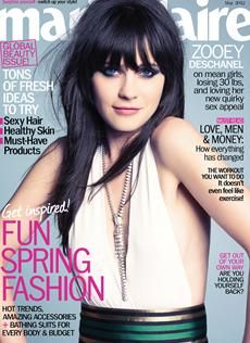 Zooey on MarieClaire