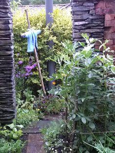 Peter Rabbit fans will recognize Mr MacGregor's garden and Peter's coat in Beatrix Potter World