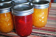 Last weekend I picked up strawberries, blueberries, and peaches from a local orchard. I had in mind to make some freezer jam, as we'd run out…. when it comes to jam, homemade just tastes so much better. Anyway, I decided to make a double batch of strawberry and a single batch of peach. The recipe {Read More...}