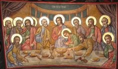 Last Supper Art, The Transfiguration, Christian Images, Byzantine Art, Eucharist, Catholic Art, Orthodox Icons, New Testament, Pictures To Draw