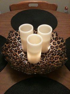 Leopard bowl!!! $15