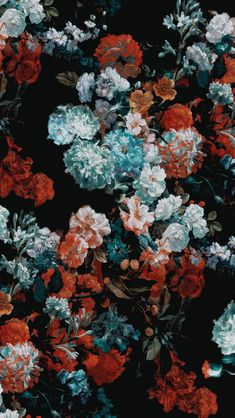 Image discovered by the find images and videos about art, flowers and wallpaper on we heart it - the app to get lost in what you love. Flower Backgrounds, Flower Wallpaper, Phone Backgrounds, Wallpaper Backgrounds, Pattern Wallpaper, Aesthetic Iphone Wallpaper, Aesthetic Wallpapers, Harry Styles Lockscreen, Motif Tropical