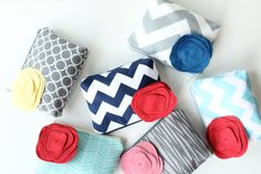 cosmetic bags. the perfect bridesmaid gift.
