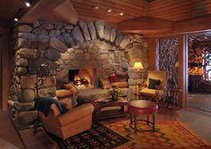 Foyer by Lake Placid Lodge NY, via Flickr