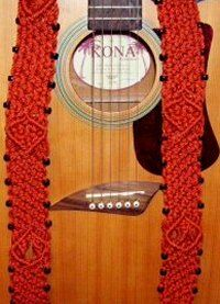 Guitar Strap... Free tutorial for making and the project is rated easy!