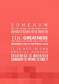 Find Your Greatness | Striking Truths