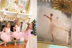 ... | Ballerina party, Ballerina party decorations and Tea party cakes