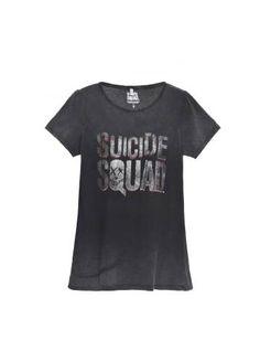 Camiseta Cinza Suicide Squad - Visite Riachuelo.com.br