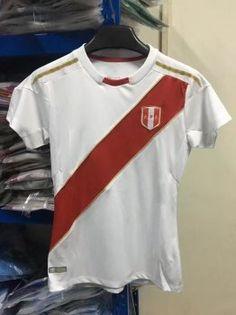 2018 World Cup Women Jersey Peru Home Replica White Shirt  BFC718  Soccer  Jerseys a72b5ca3f