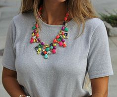 Statement necklaces have been a huge trend for a while now, and it doesn't seem like they're going anywhere any time soon. For good reason, too: the right statement necklace can bring any outfit to the next level. A really glam one can transform a plain outfit into something special, and a particularly large one … Read More