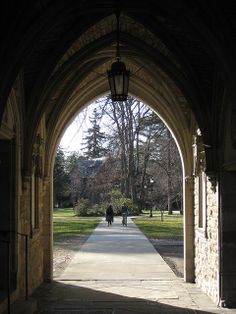 arch way | Blodgett Hall Archway