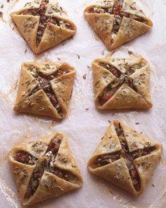 Sausage and Feta Hand Pies Recipe
