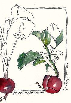 farmer's market radish