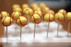 Softball Cake Pops Recipe
