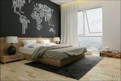 Diseño de dormitorio para jóvenes