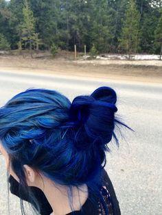 For that gorgeous dark-blue colour. https://www.pinterest.com/mundodejess/h-a-i-r/