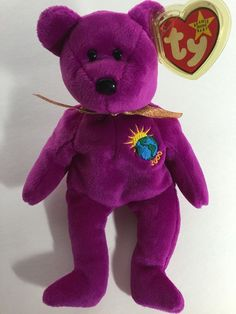 If You Have These 12 Beanie Babies, You Might Be Able To Retire Now! – Awareness Act Beanie Babies Value, Rare Beanie Babies, Beanie Baby Bears, Ty Beanie, Beanie Baby Prices, Peace Beanie Baby, Princess Diana Bear, Kristen Stewart Pictures, Pink Bird