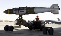 The Largest JDAM On The USA Arsenal 5000 Lbs.