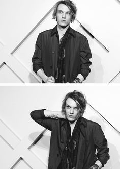 Jamie Campbell Bower attends the Burberry brings London to Shanghai event on April 24, 2014 in Shanghai, China