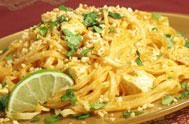 Peanut Rice Noodles | Institute for Integrative Nutrition. With cabbage and scallions