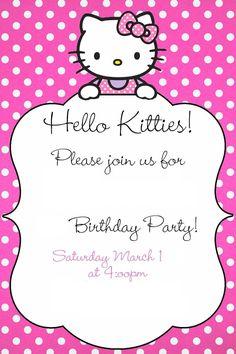 Hello kitty printable invitation rainbow hello kitty kitten and hello kitty printable invitation rainbow hello kitty kitten and rainbows stopboris Choice Image