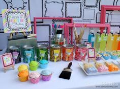 Girly Art Party