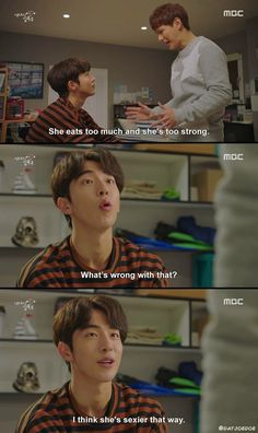 Find images and videos about kdrama, kim bok joo and weightlifting fairy on We Heart It - the app to get lost in what you love. Weightlifting Fairy Kim Bok Joo Funny, Weightlifting Kim Bok Joo, Korean Drama Funny, Korean Drama Quotes, Kim Book, W Two Worlds, Lee Sung Kyung, Drama Fever, Kdrama Memes