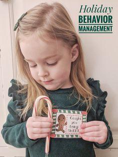 Holiday Behavior Management System Behavior Management System, Christmas Thoughts, Positive Behavior, Fun Crafts For Kids, Toddler Preschool, Kid Friendly Meals, Early Childhood, Parenting Hacks, Yoga Pants