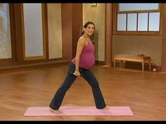 10 minute prenatal pilates part 1 - YouTube
