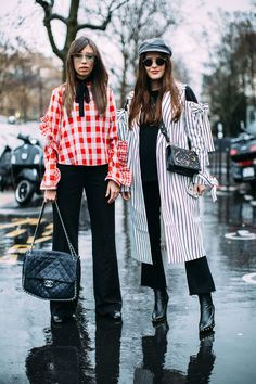 Paris Fashion Week Fall 2017 Street Style Day 5 Cont.- The Impression