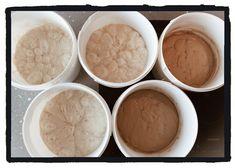 Vorteige in der Warteschleife ... nachmittags wird gebacken! Juhuuu, ich freue mich auf unseren Grundkurs Brot und Gebäck! www.ninabackts.at