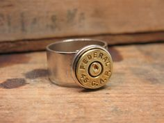 Bullet Casing Jewelry 45 GAP Brass Bullet Casing by thekeyofa Winchester, Bullet Casing Jewelry, Charm Braclets, Bullet Designs, Upcycle, Reuse, Hand Guns, Cuff Bracelets, Upcycling