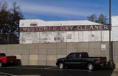 Westower Dry Cleaner ghost sign, Cincinnati