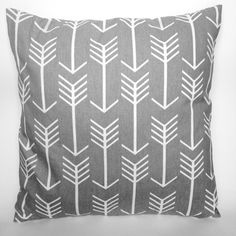 Arrow Pillow Cover by TheDecoratedHome on Etsy