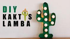 DIY Cactus Led Lamb