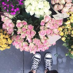 Weekend shopping #flowers #allover