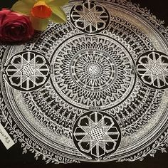 My mandala madness complete...after over 14 hours!  #henna #mandalamadness #hennaart #zentangleinspiredart #zentangle #instaartist #instaart #ink #art #illustration #drawing #blackandsilver #creative  #doodle  #metallicart #mandala #mandalaart #hennainspiredart #doodleart #doodleartist #islamicartwork #islamicgeometry #doodleart #draw #artfido #floral #pattern #mandaladesign #design #detail #loveart