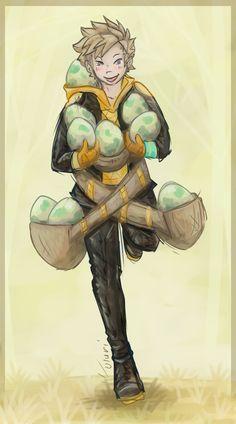 Team Instinct's Spark by Uluri.deviantart.com on @DeviantArt