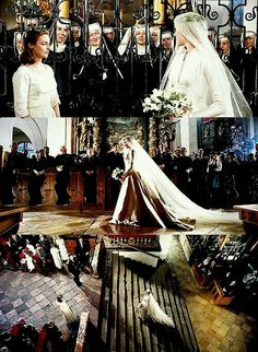 The wedding of the captain & Maria