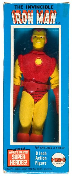 Earn money helping collectors find vintage action figures on FyndIt. #Vintage #ActionFigures #IronMan