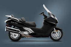 Honda, 2012 Silver Wing Black...$9270