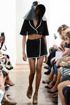 J W Anderson SS15 Change skirt to trousers